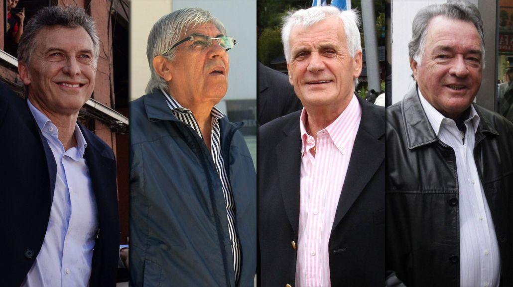 Macri recibe a las CGT, mientras algunos gremios preparan el paro