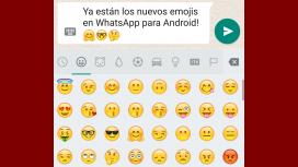 Los nuevos emojis de WhatsApp