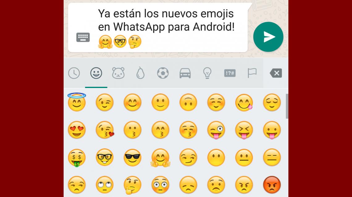 Los nuevos emojis de WhatsApp ya están disponibles para Android