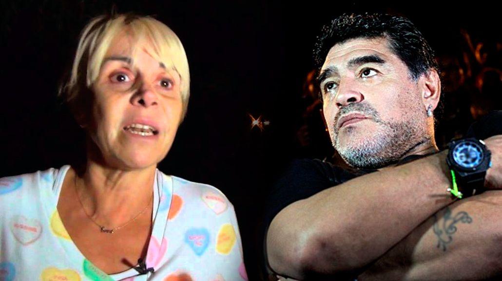 Claudia Villafañe deberá declarar en la causa por estafa que le inició Diego Maradona