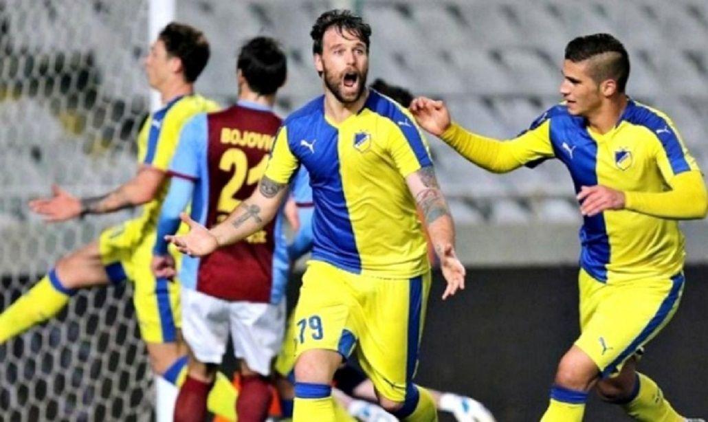 Cavenaghi rescindió su contrato con el Apoel de Chipre por una lesión