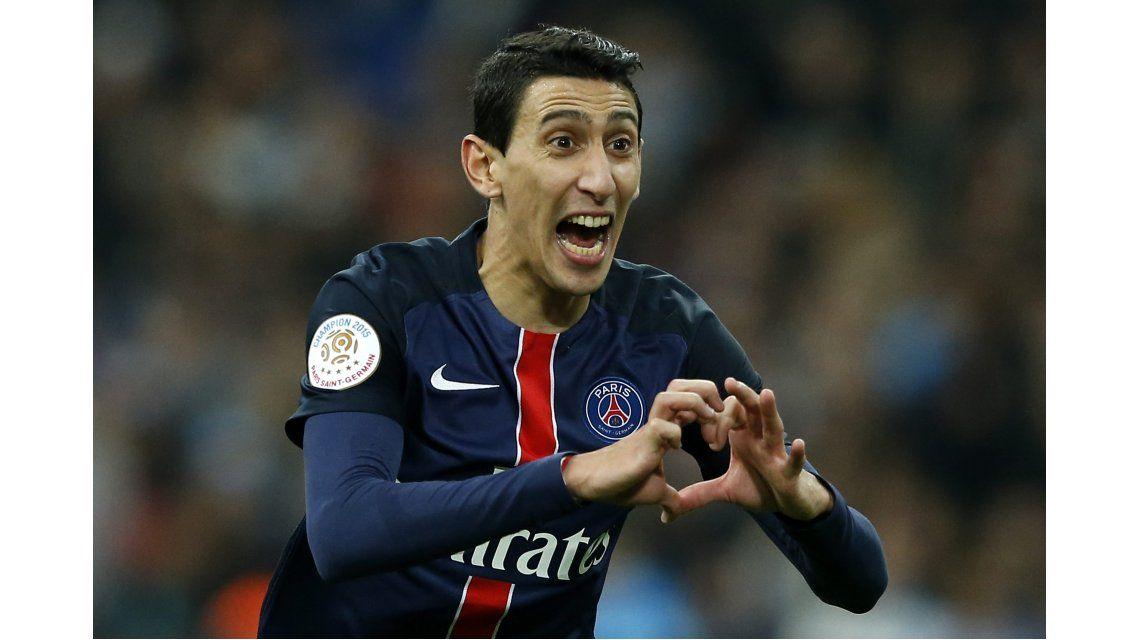 Di María marcó un gol y le dio una nueva victoria al PSG