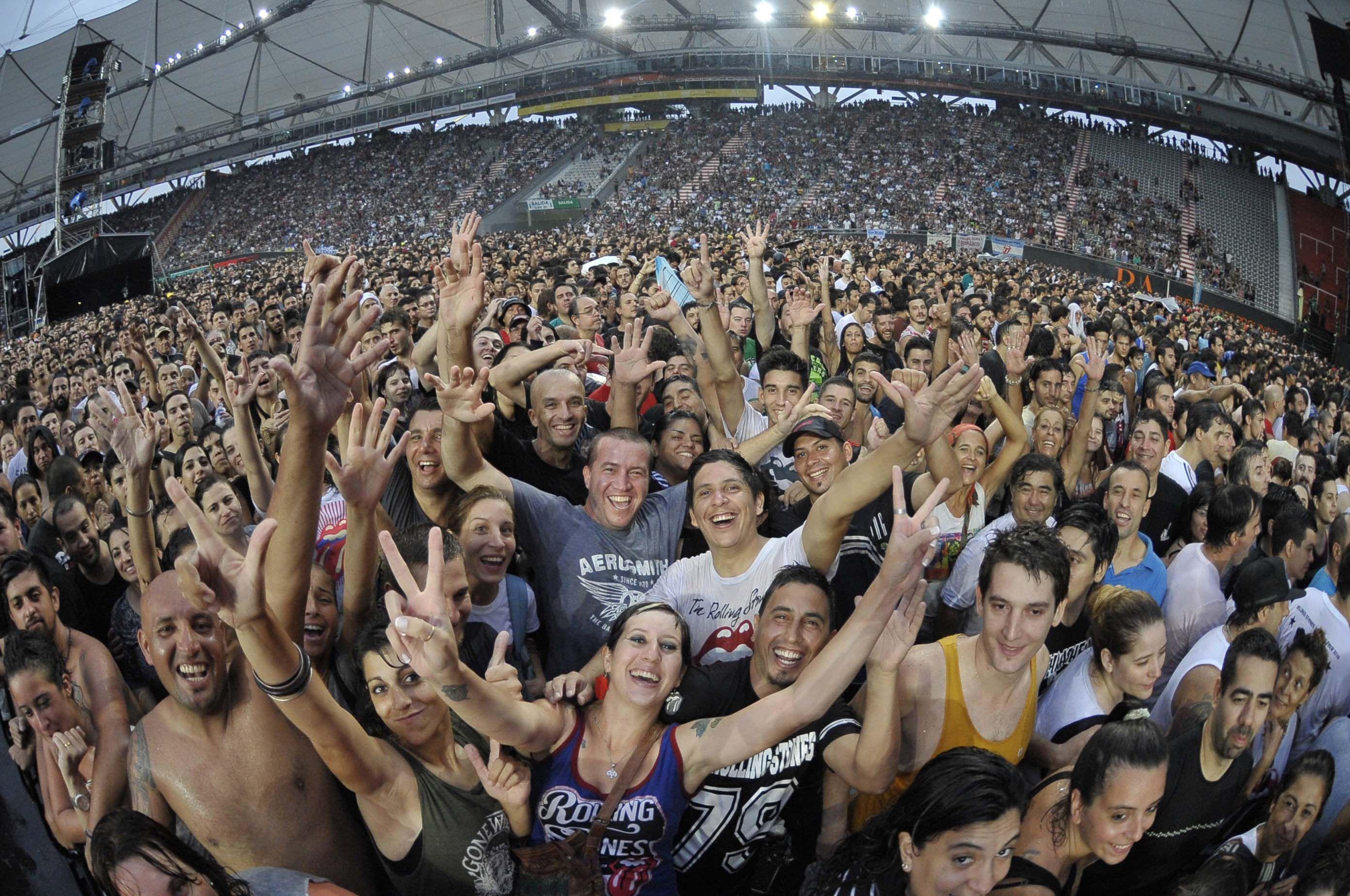 ¿Se suspende el show de los Rolling Stones en La Plata por la tormenta?