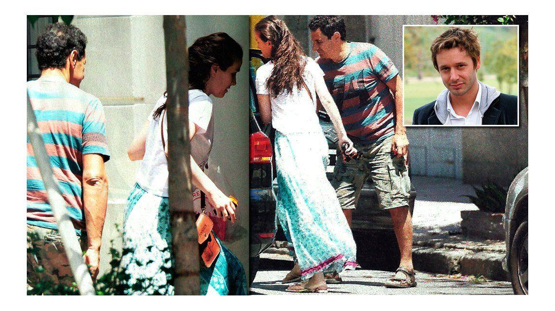 Natalia Oreiro y Ricardo Mollo, reconciliados junto a su hijo Merlín