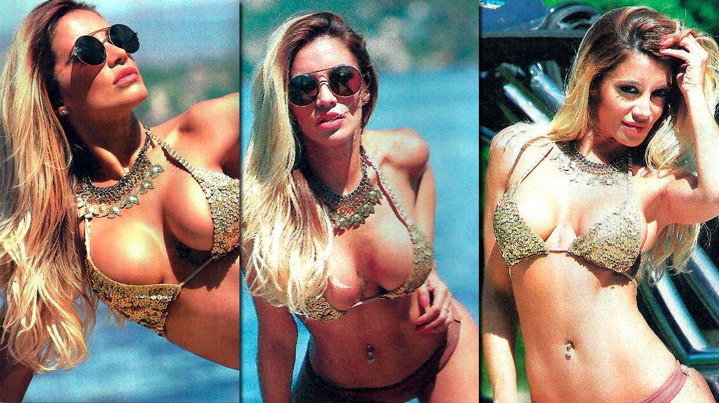 Las fotos hot de Claudia Ciardone en Carlos Paz: Estoy sola pero feliz