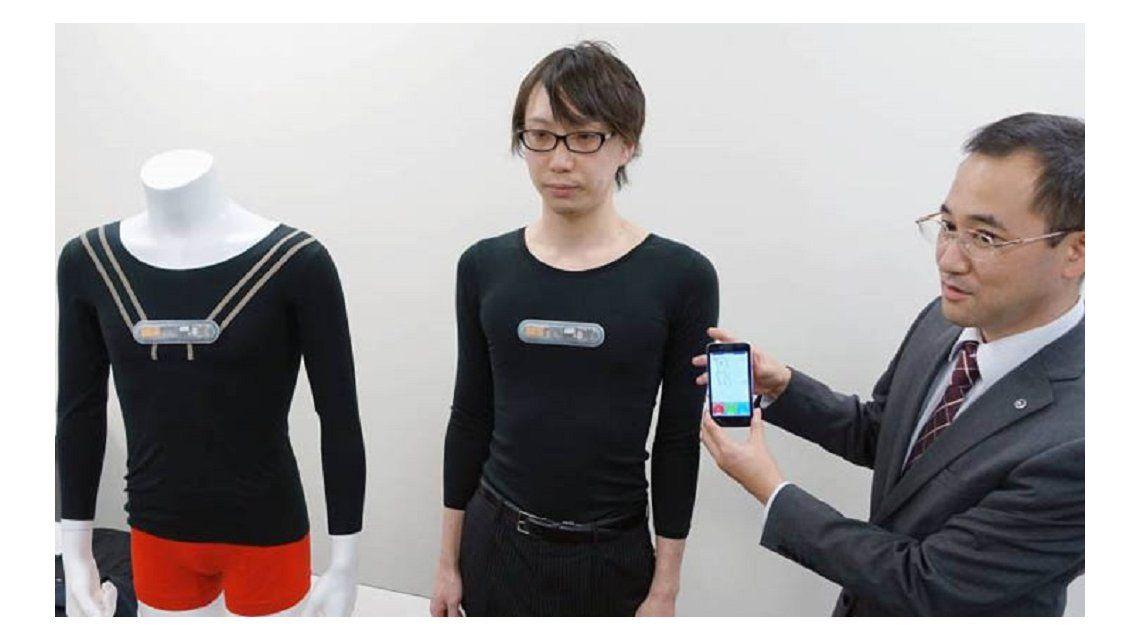 Desarrollan una remera inteligente para mejorar la condición física