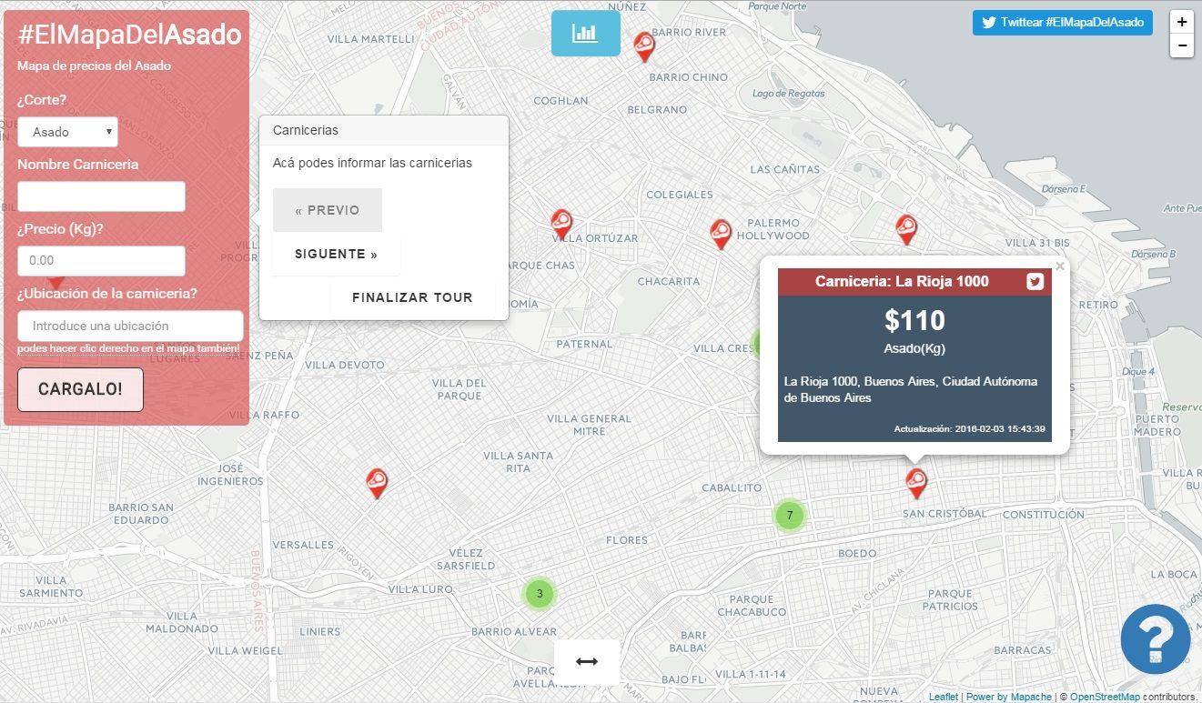 El Mapa del Asado ya tiene su propio sitio web