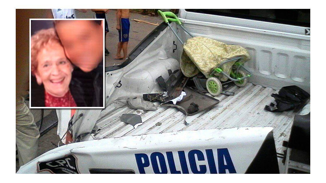 Este martes indagan a los policías que atropellaron y mataron una anciana en Villa Ballester