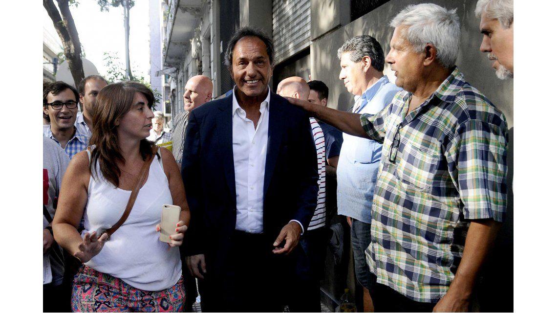 Scioli afirmó que no piensa en una candidatura