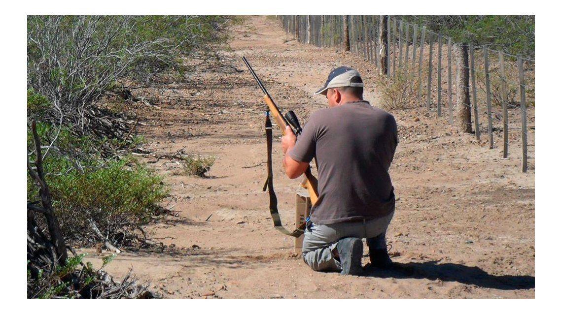 Cazó un guanaco, pero se accidentó con un cuchillo y murió desangrado