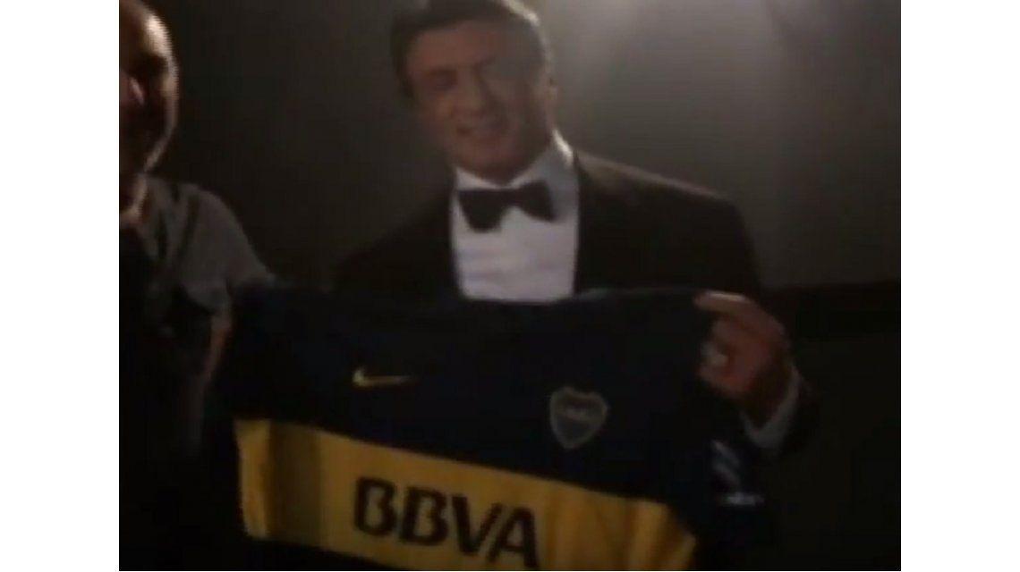 VIDEO: Rocky es hincha de Boca