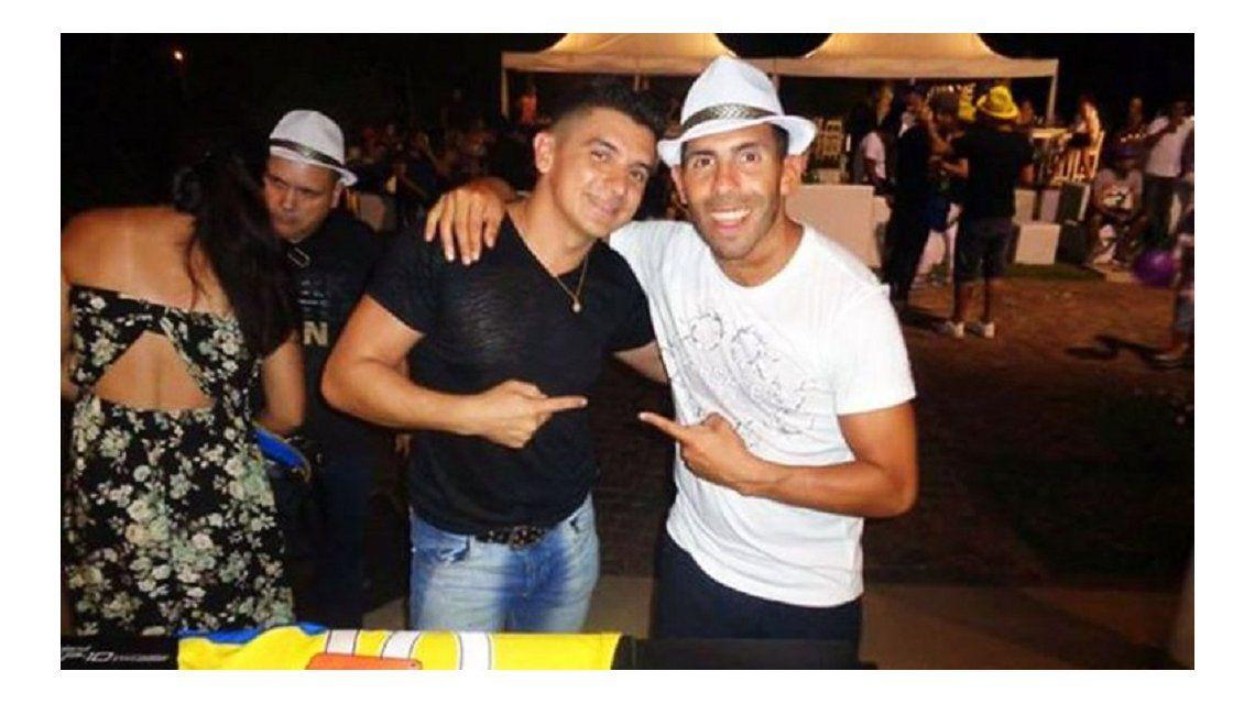 ¿Qué jugadores estuvieron presentes en el cumpleaños de Carlos Tevez?