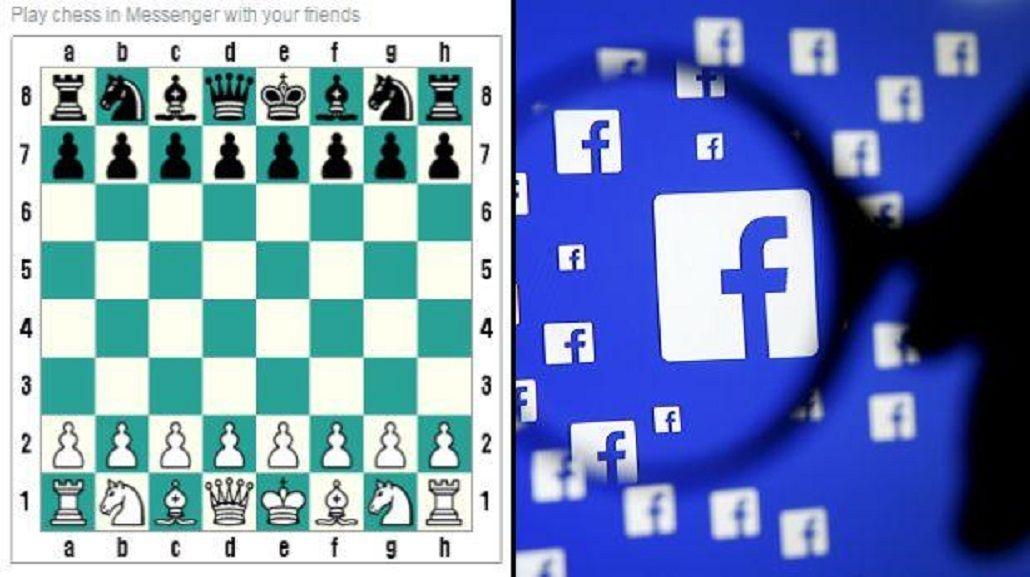 El juego de ajedrez escondido en el Messenger de Facebook