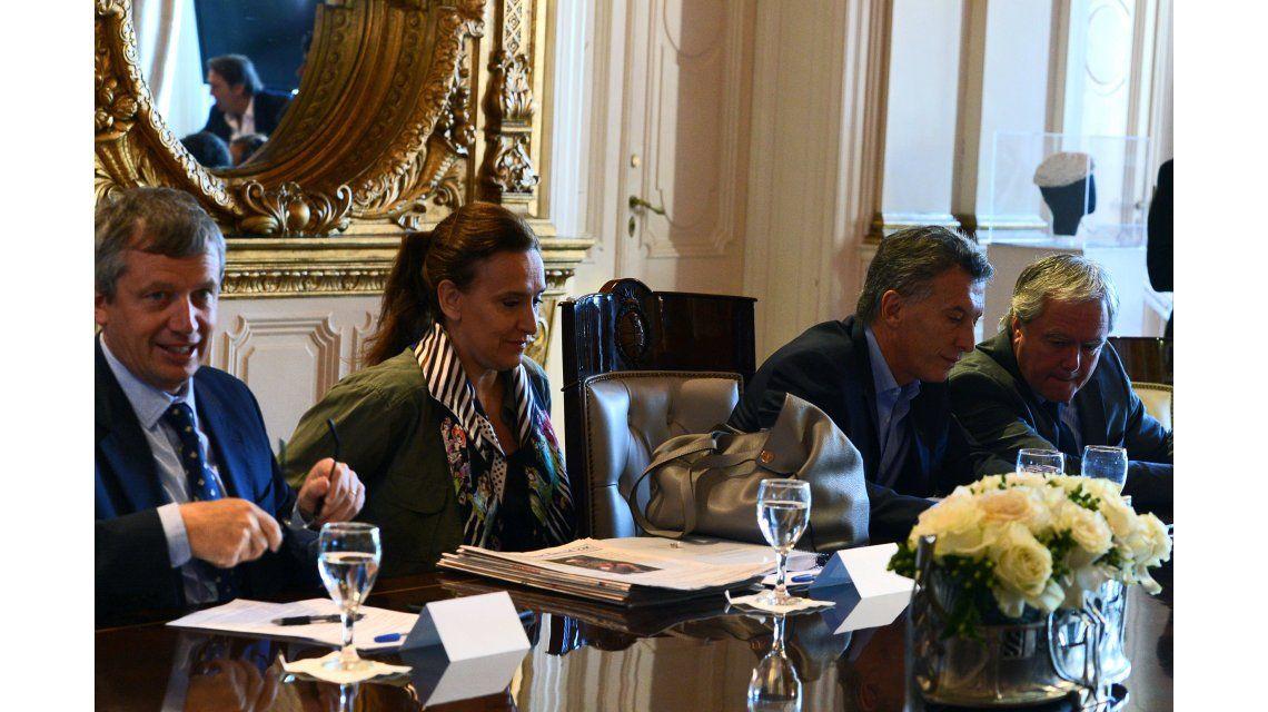 Macri encabeza una reunión de Gabinete en Casa Rosada