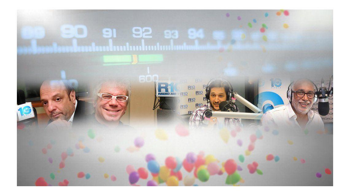 Radio 10 cumple hoy 18 años en el aire