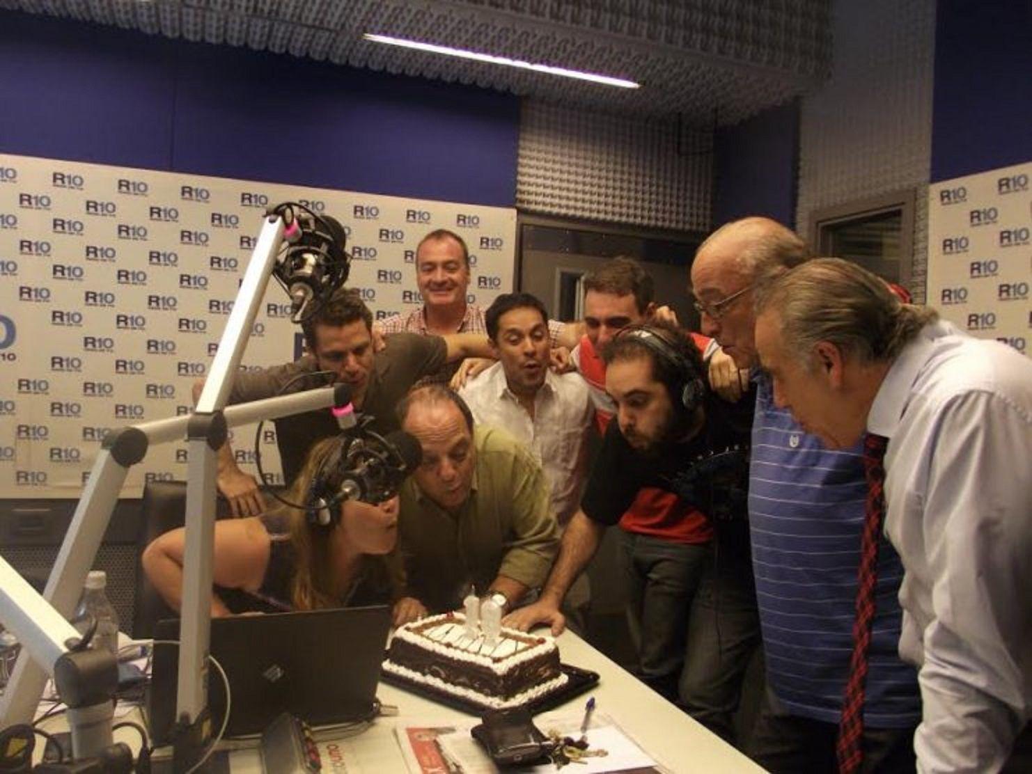 Radio 10 cumplió 18 años: así fue el festejo de los conductores