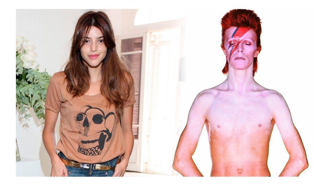 Calu Rivero, lookeada a lo David Bowie para un festival