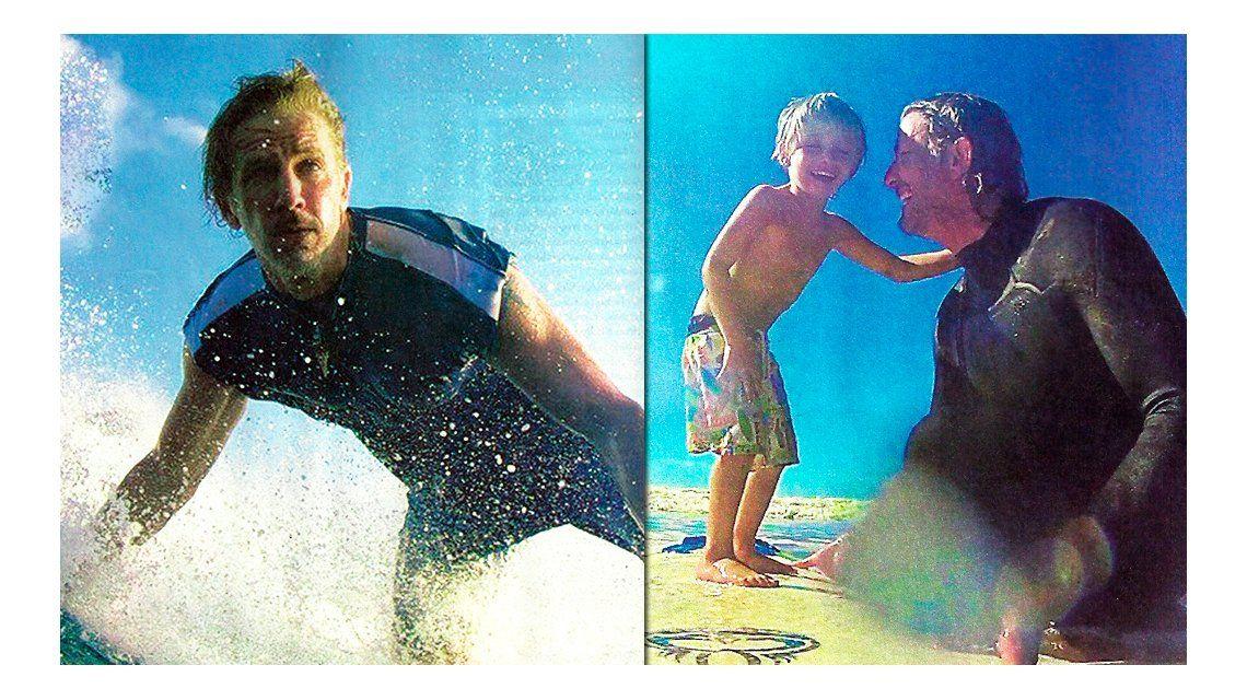 Facundo Arana: Me enamora más una chica en la tabla de surf