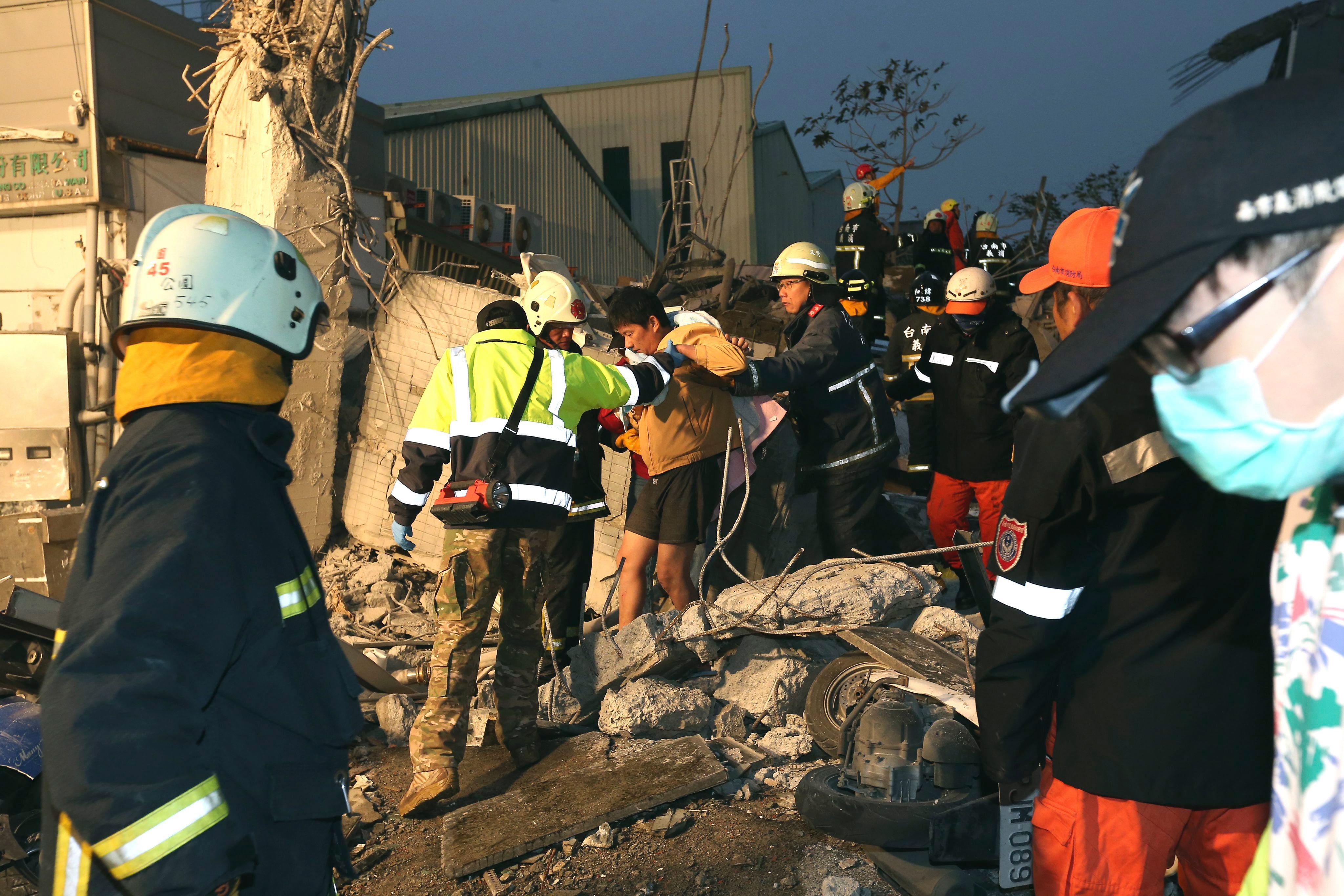 Las imágenes del terremoto en Taiwán