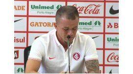 D´Alessandro se despidió del Inter entre lágrimas y confirmó su regreso