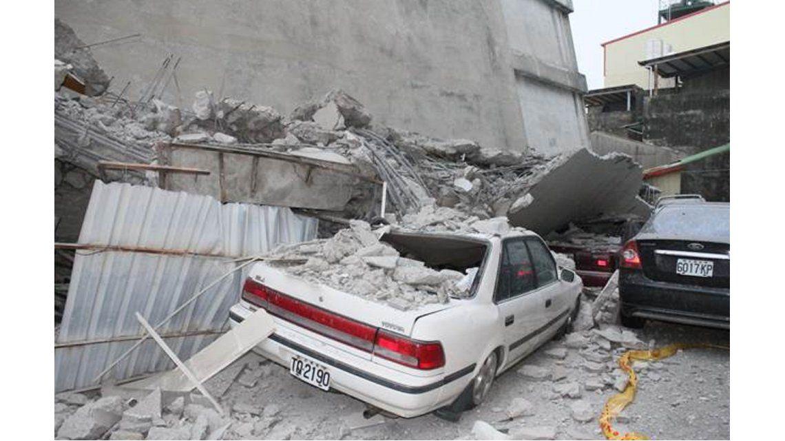 Terremoto de Taiwán derrumbó varios edificios
