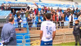 Futbolista argentino recibió insultos en la presentación de su nuevo club