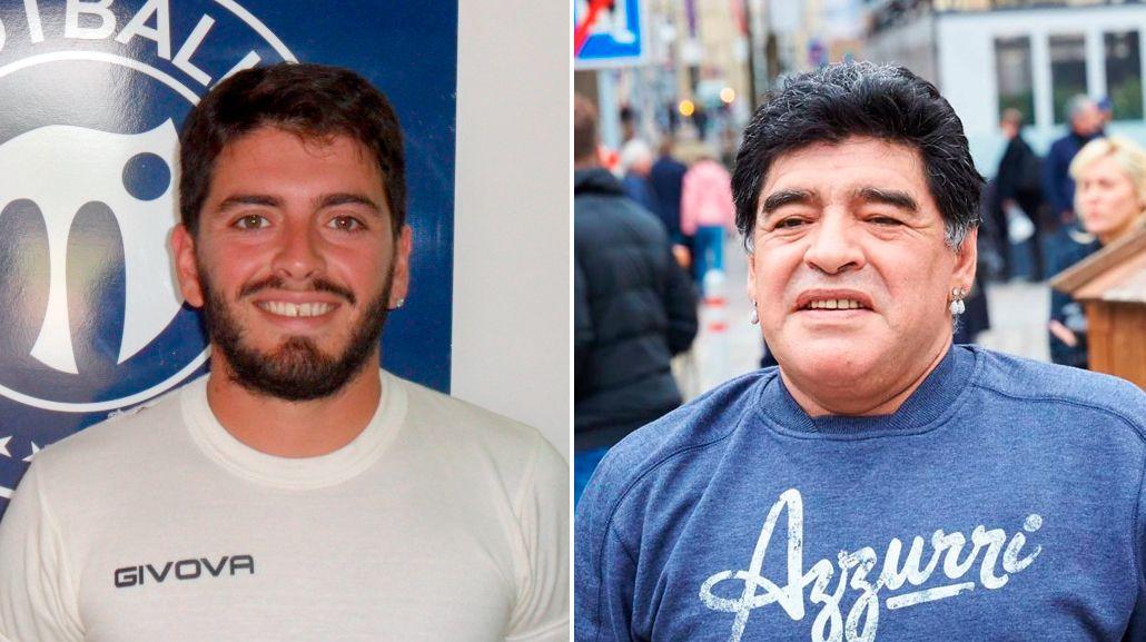 Diego Maradona Jr.: Lo único que quiero es juntarme con mi viejo