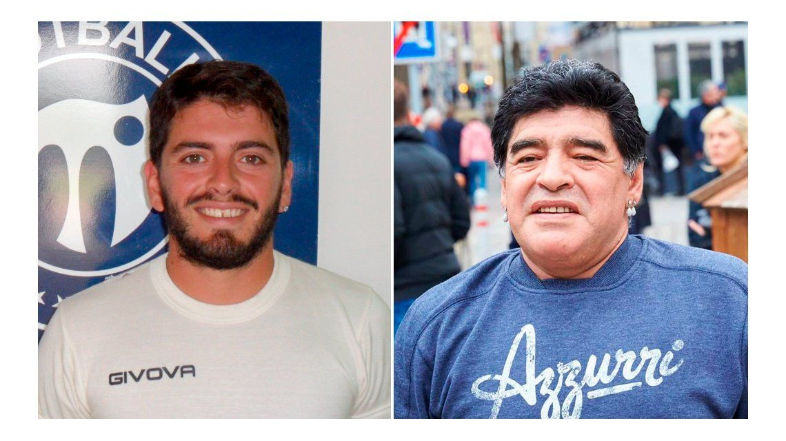 Diego Maradona Jr. ya llegó al país para sumarse al Bailando 2016