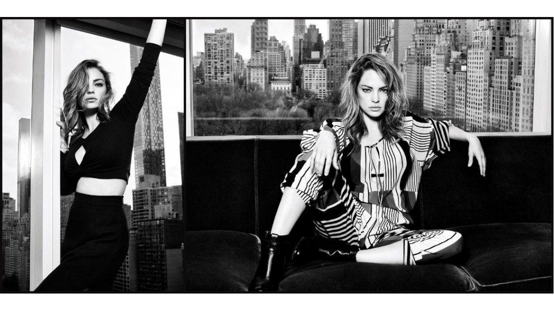 Dolores Fonzi, modelo en Nueva York: las fotos