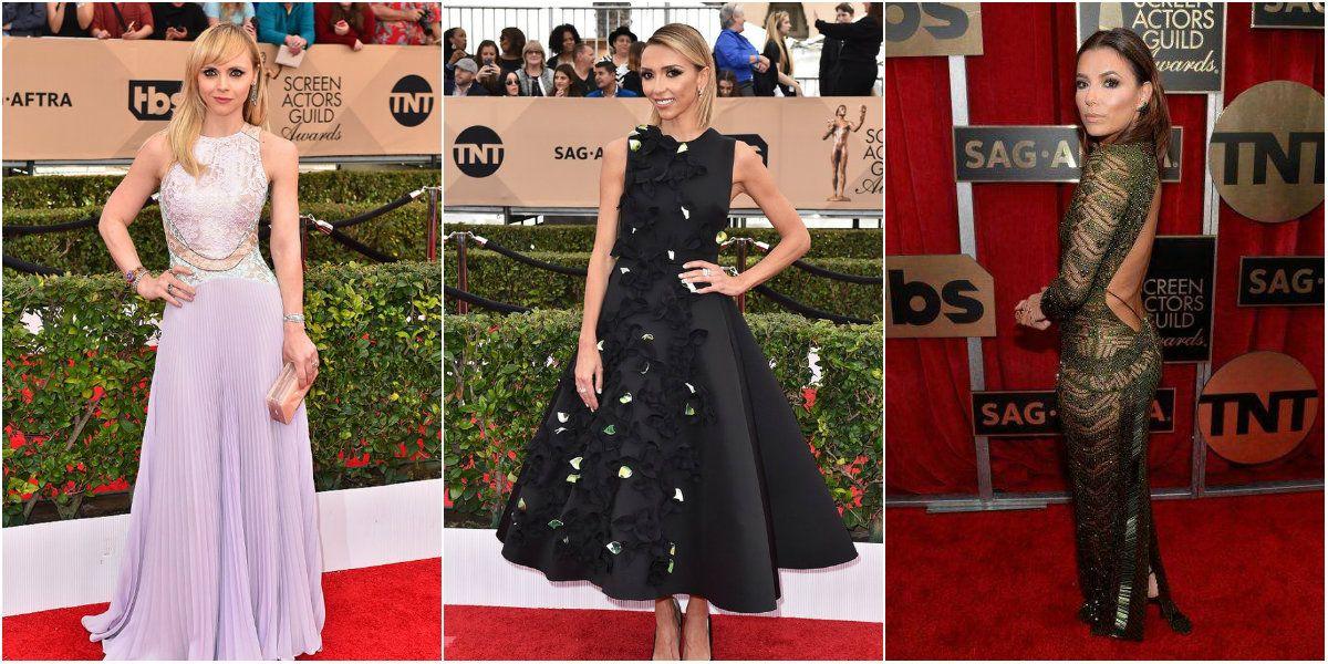 Mirá el look de los famosos en la alfombra roja de los SAG Awards