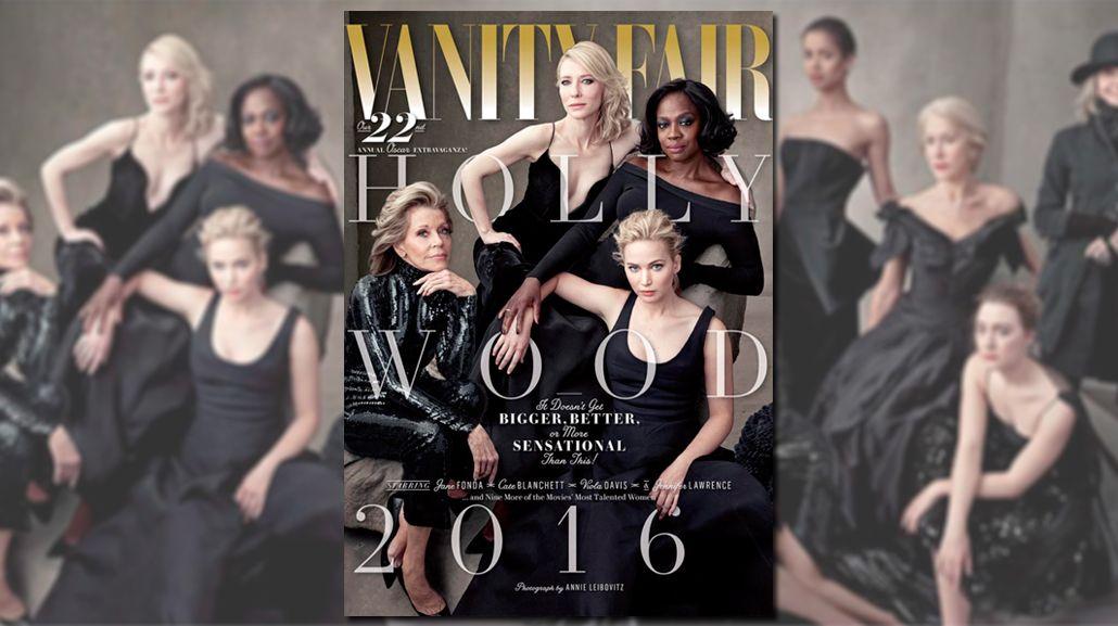 La explosiva tapa de la revista Vanity Fair, que destroza la falta de nominados afroamericanos en los Oscar