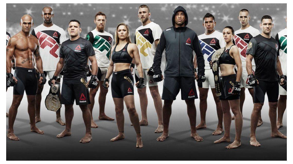 Sólo para fanáticos: ¿cuánto sale vestirte como un peleador de UFC?