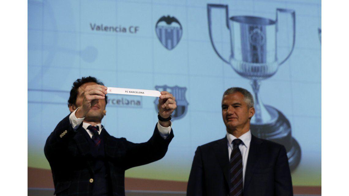 Se sortearon las semis de la Copa del Rey: Barcelona irá ante Valencia