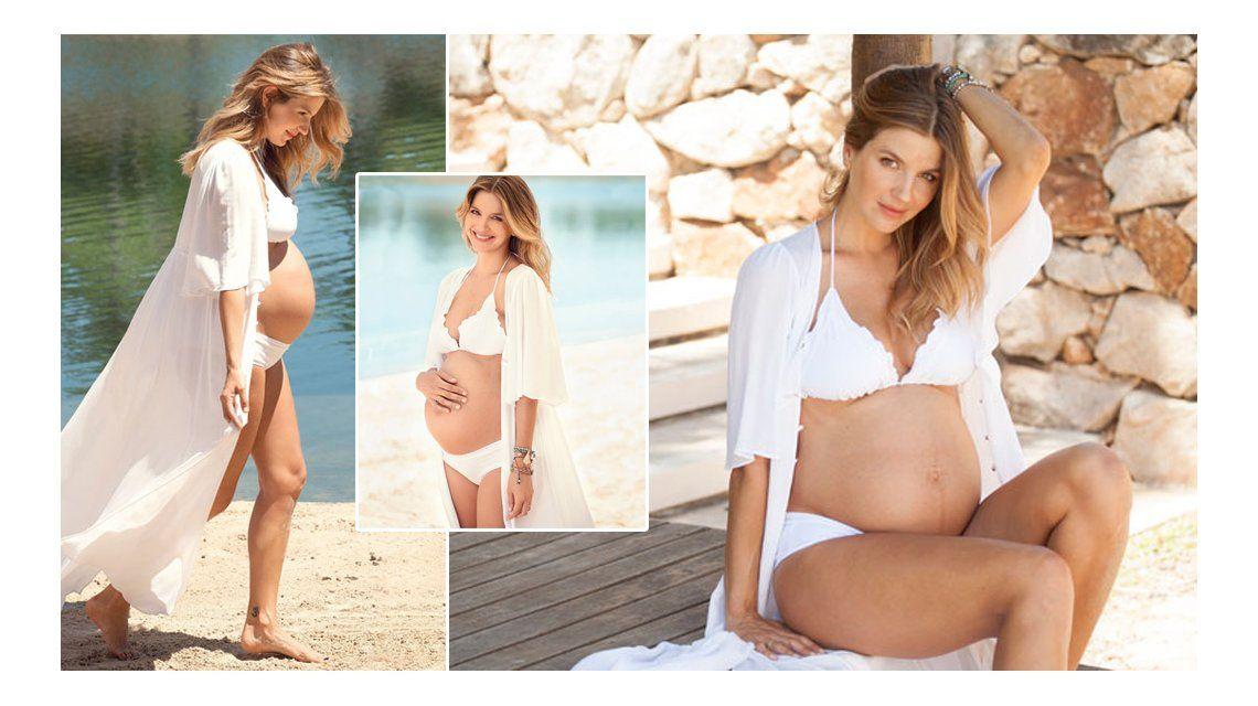 Marcela Kloosterboer, embarazada de ocho meses: Se va a llamar Juana