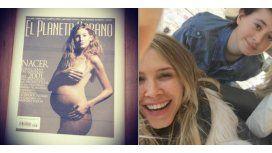 Mirá la foto vintage de Guillermina Valdes: embarazada a los 23 años