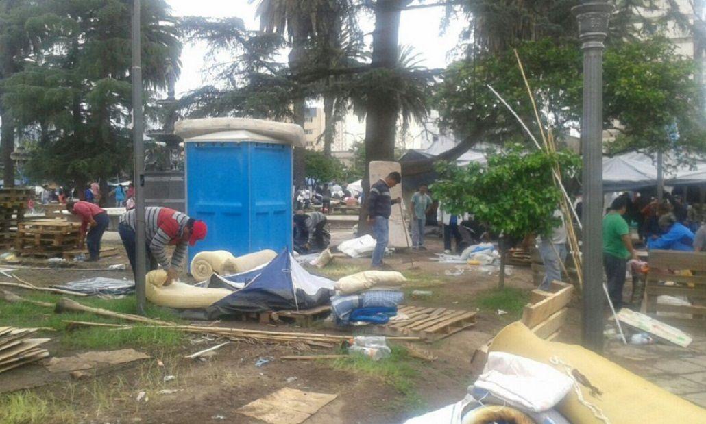 La Tupac Amaru levantó la protesta en Jujuy