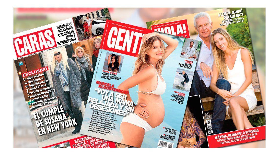 Mirá las tapas de las revistas de la semana