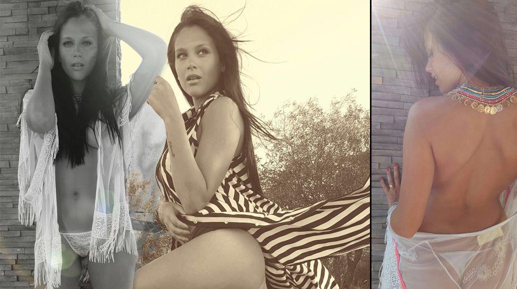 El sensual topless de Barbie Vélez en una nueva producción