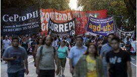 Agrupaciones kirchneristas y de izquierda marcharon por la liberación de Sala