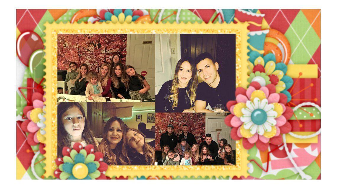 El cumpleaños de La Princesita con el Kun Agüero: Demichelis, Eva Anderson y Otamendi, los invitados
