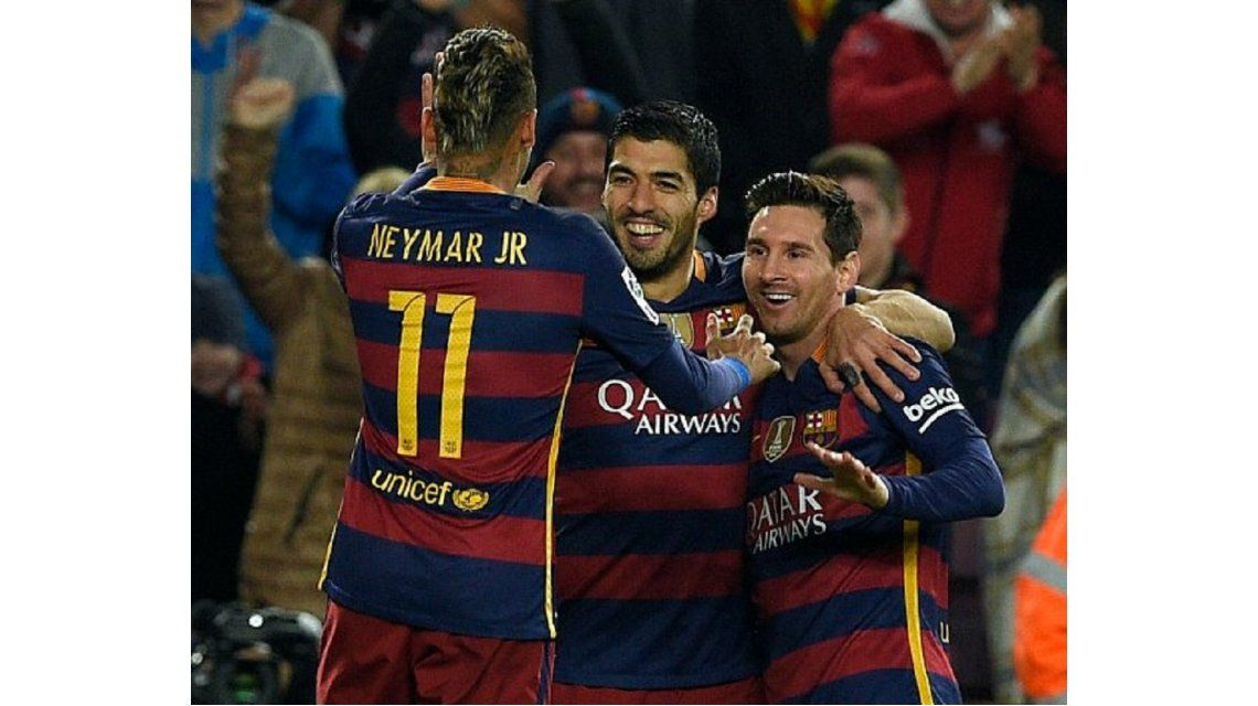 Los números de la MSN, la delantera que se rompe con la salida de Neymar