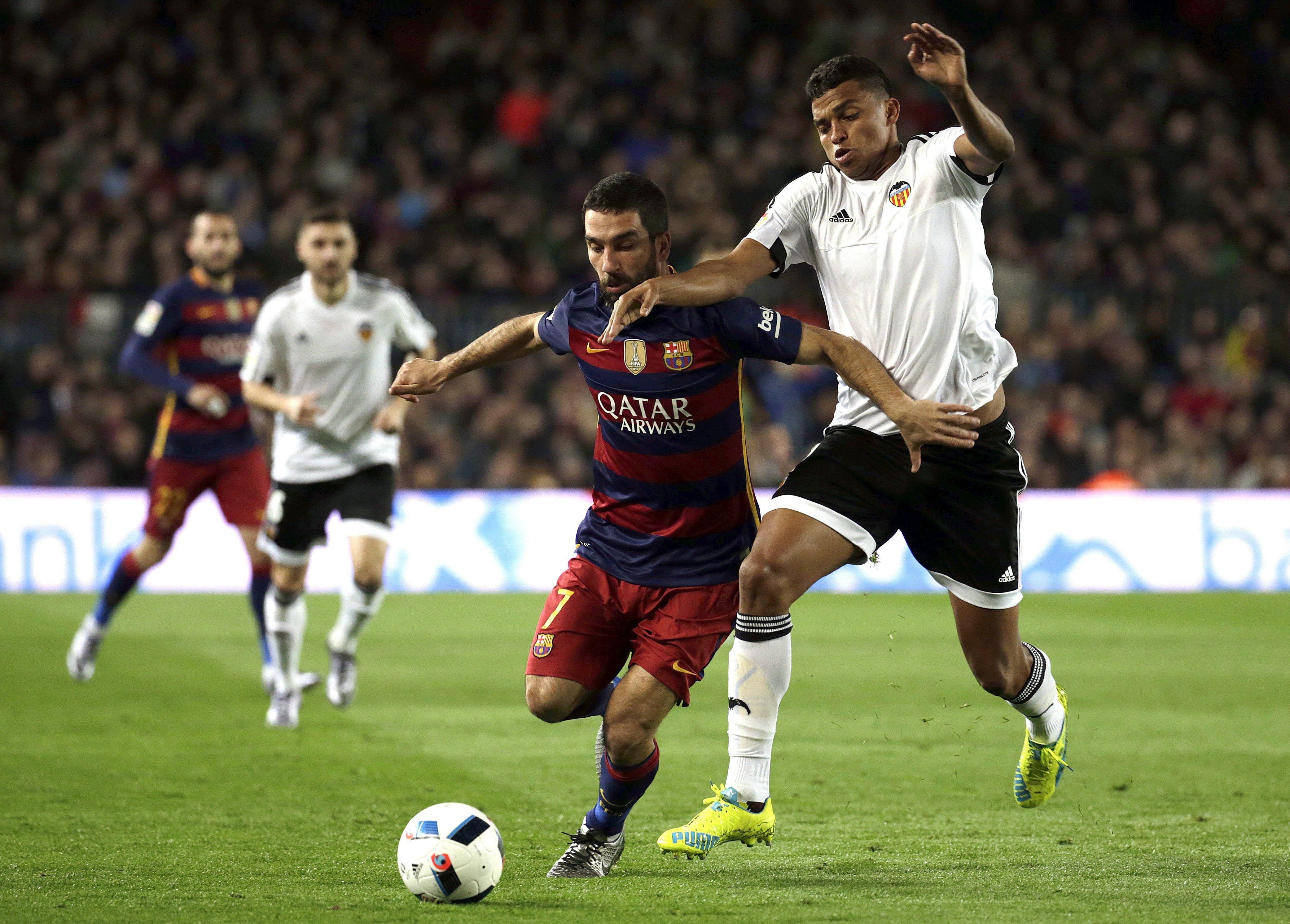 Tras el 7 a 0, el Barcelona empató ante Valencia y se metió en la final