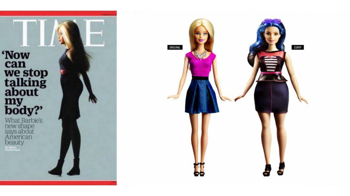 La curiosa tapa de la revista Time por los nuevos diseños de la muñeca Barbie