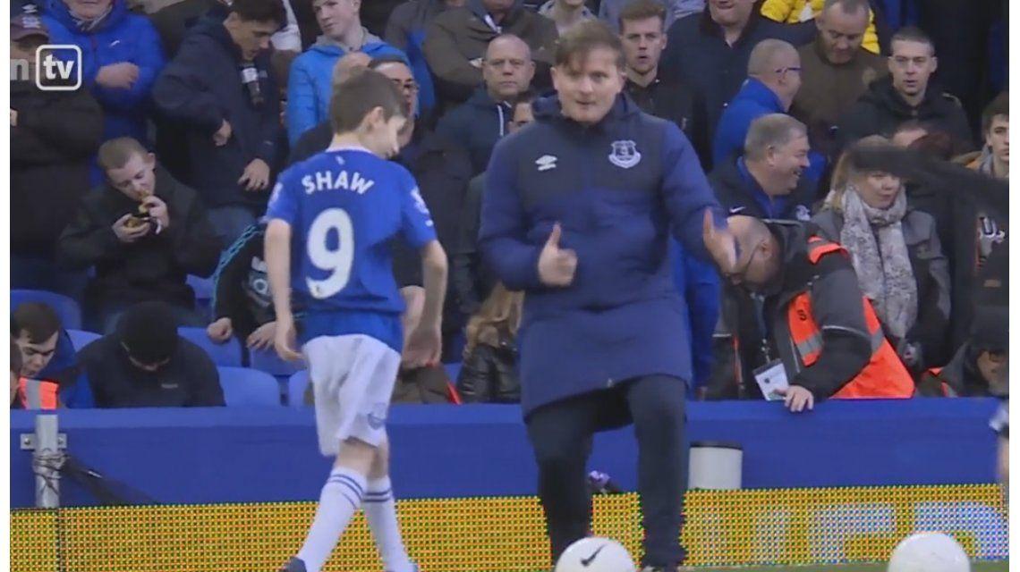 Imposible no llorar: el gesto de un jugador del que habla todo Inglaterra