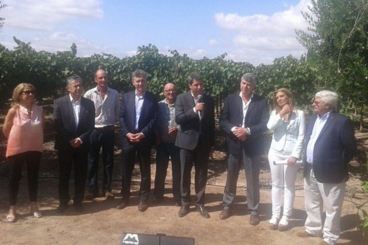 Desde Mendoza, Macri instó a conquistar nuevos mercados