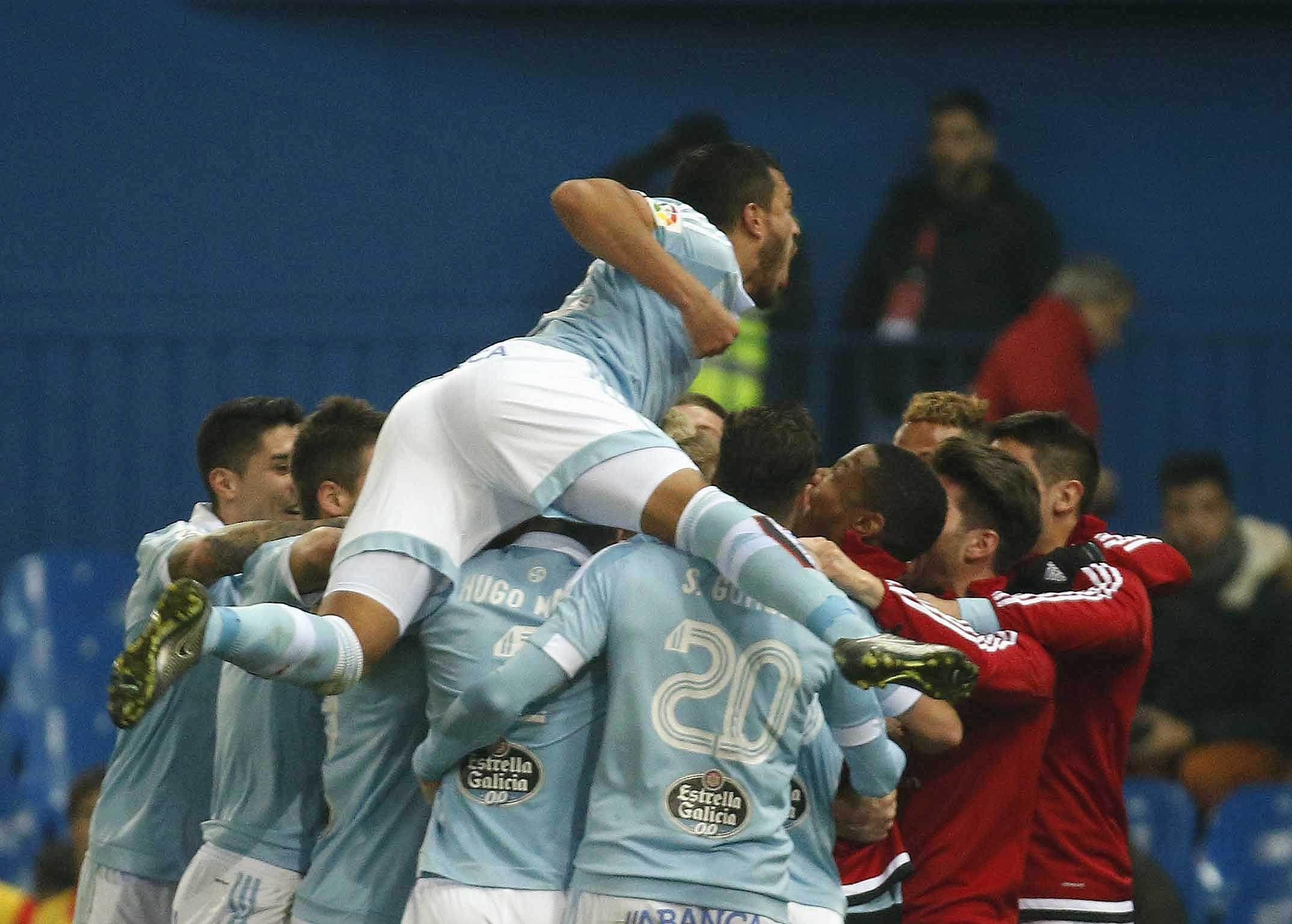 En un vibrante partido, el Celta de Berizzo venció al Atlético de Simeone y se metió en las semifinales