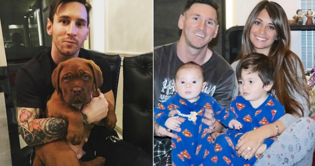 Messi presentó al nuevo integrante de su familia: Gracias por este regalo, mi amor