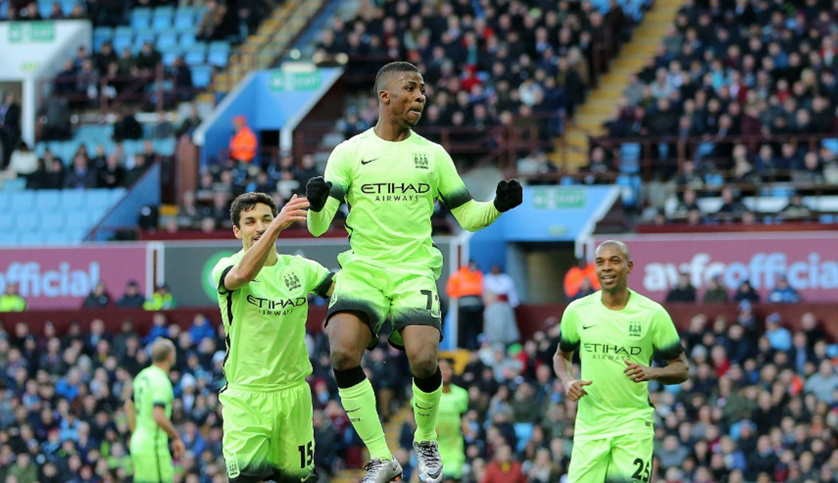 Sin Agüero, Manchester City goleó al Aston Villa y avanzó a octavos de final