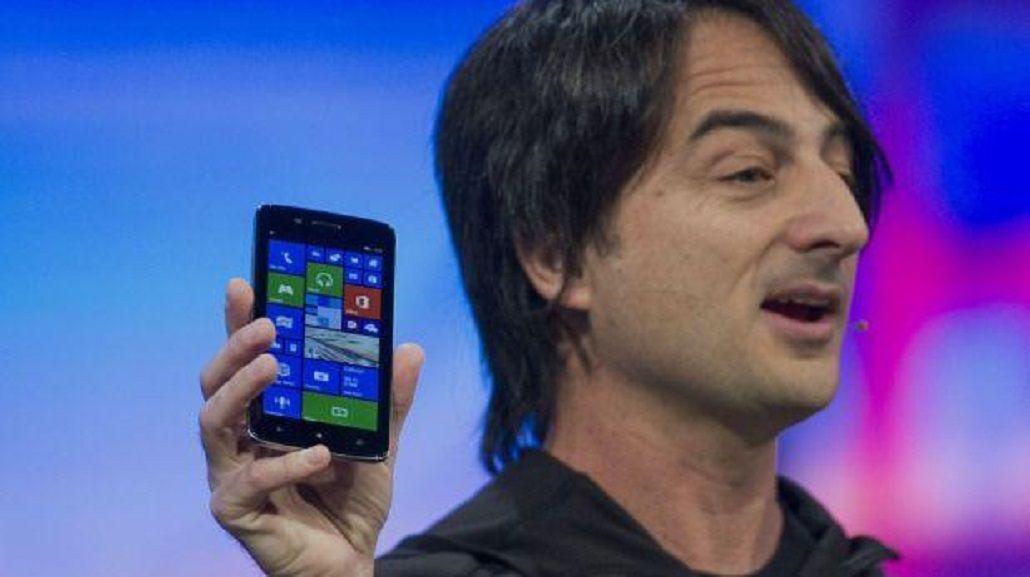 ¿Contradicción? El gestor del Windows Phone usa un iPhone