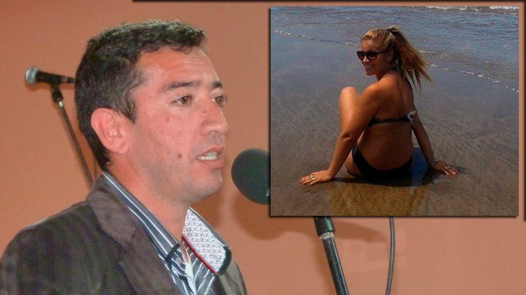 El intendente puntano dijo que fue amenazado días antes del crimen de su esposa
